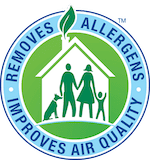Allergen removal badge